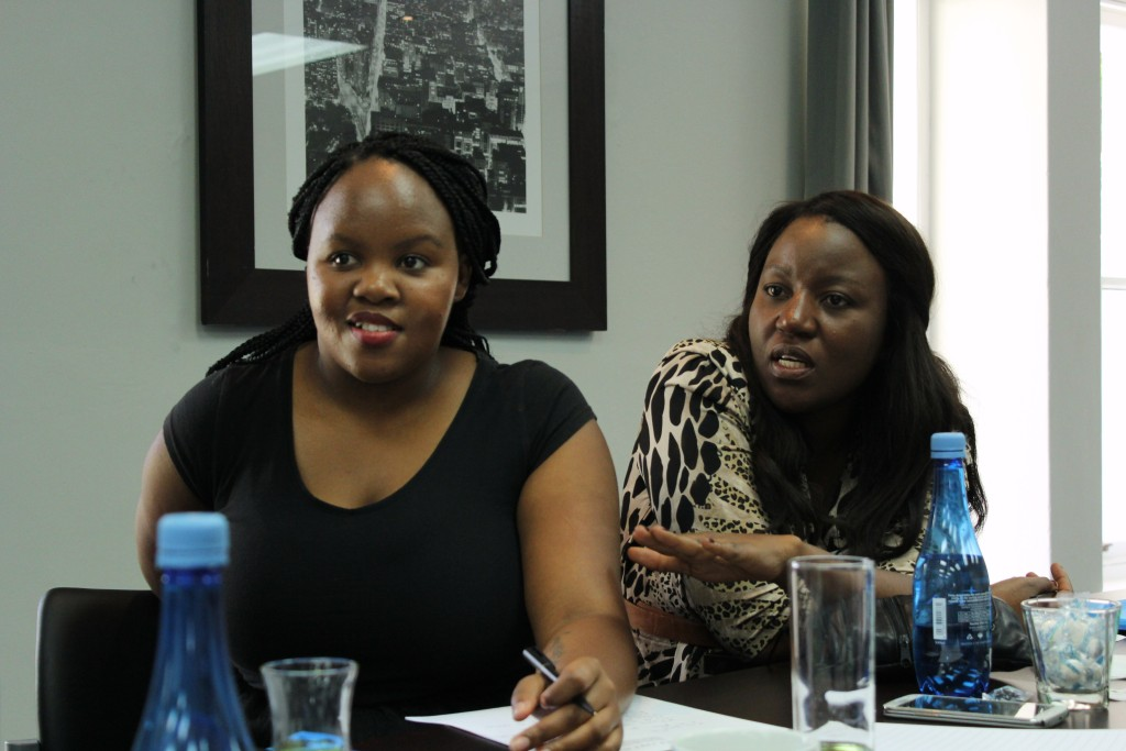 Phumza (South Africa) & Stenah (Zambia)