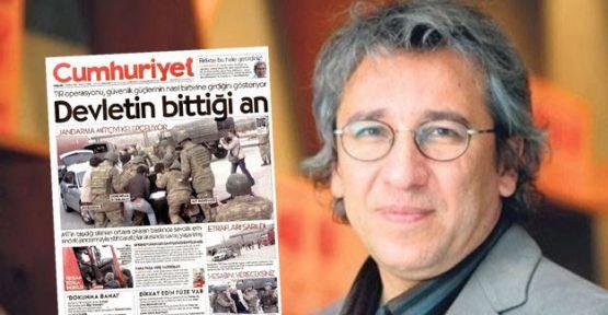 Can Dünbar, editor in chief of Cumhurriyet