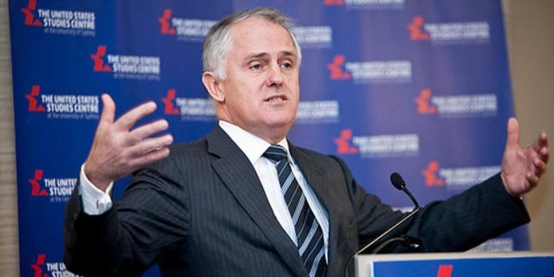 Australian Prime Minister Malcom Turnbull